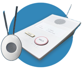 Care Hub pendant alarm and in-home alert system